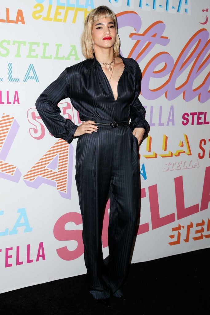 Sofia Boutella at the Stella McCartney Show in Hollywood-4
