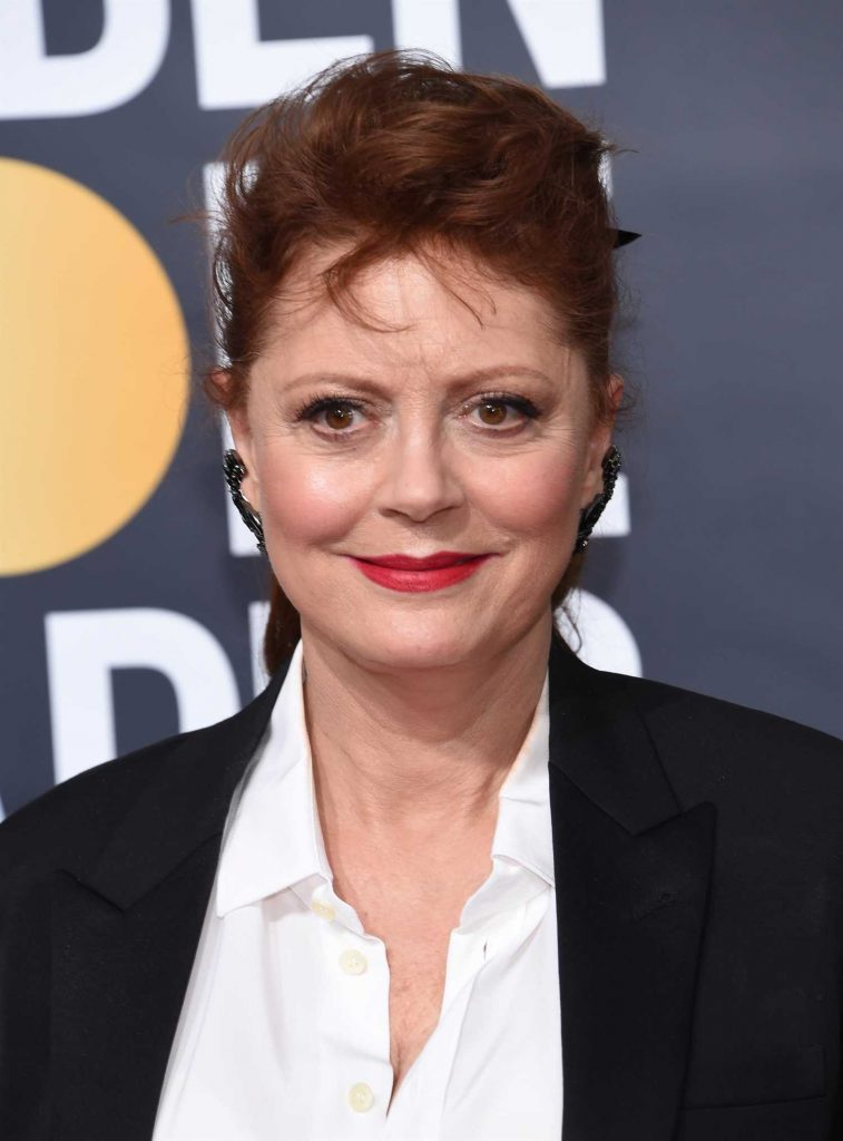 Susan Sarandon at the 75th Annual Golden Globe Awards in Beverly Hills-1