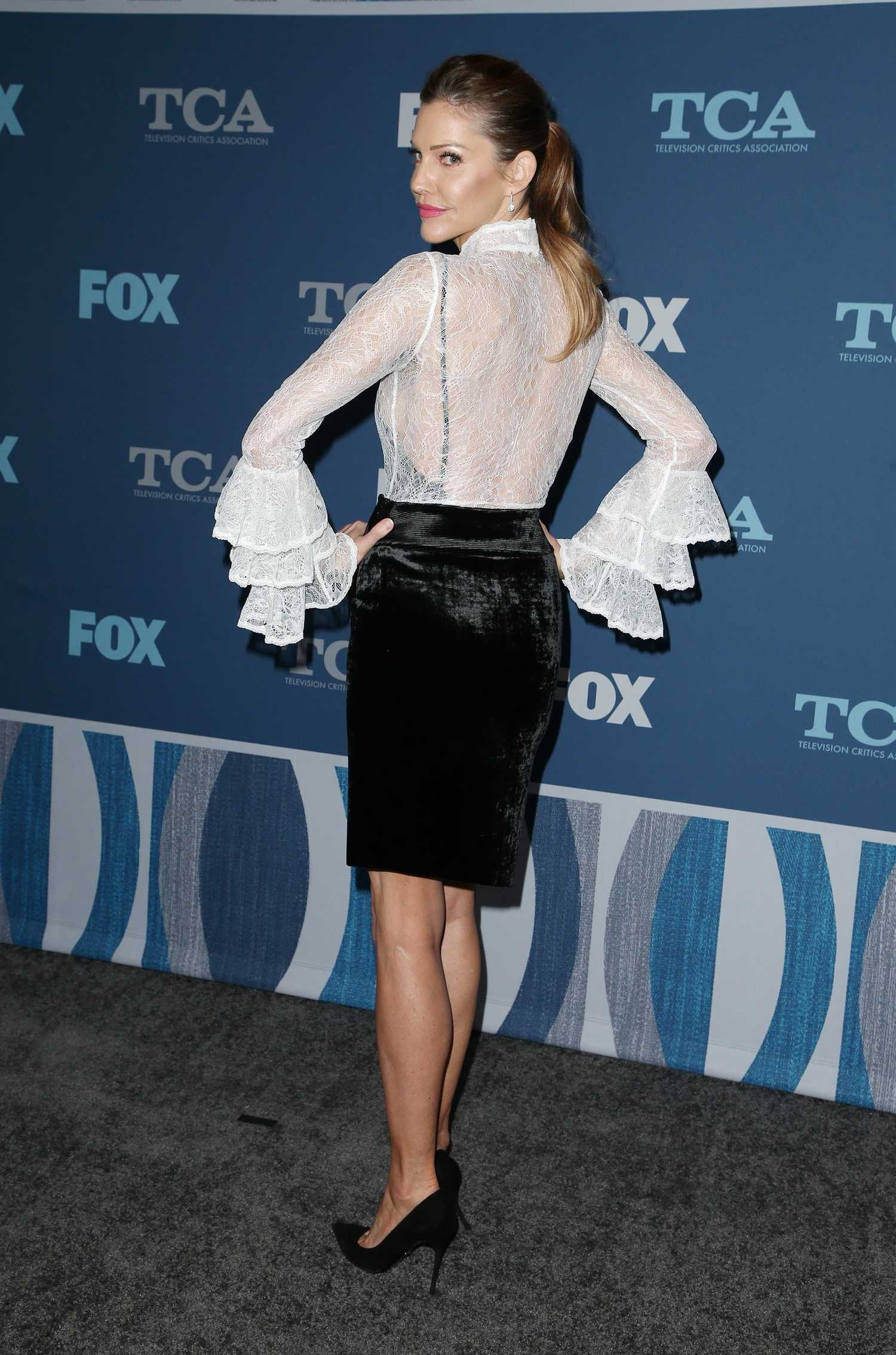 tricia helfer at the fox winter tca 2018 all