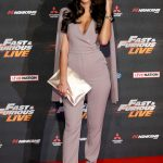 Yazmin Oukhellou at the Fast and Furious Live Premiere in London