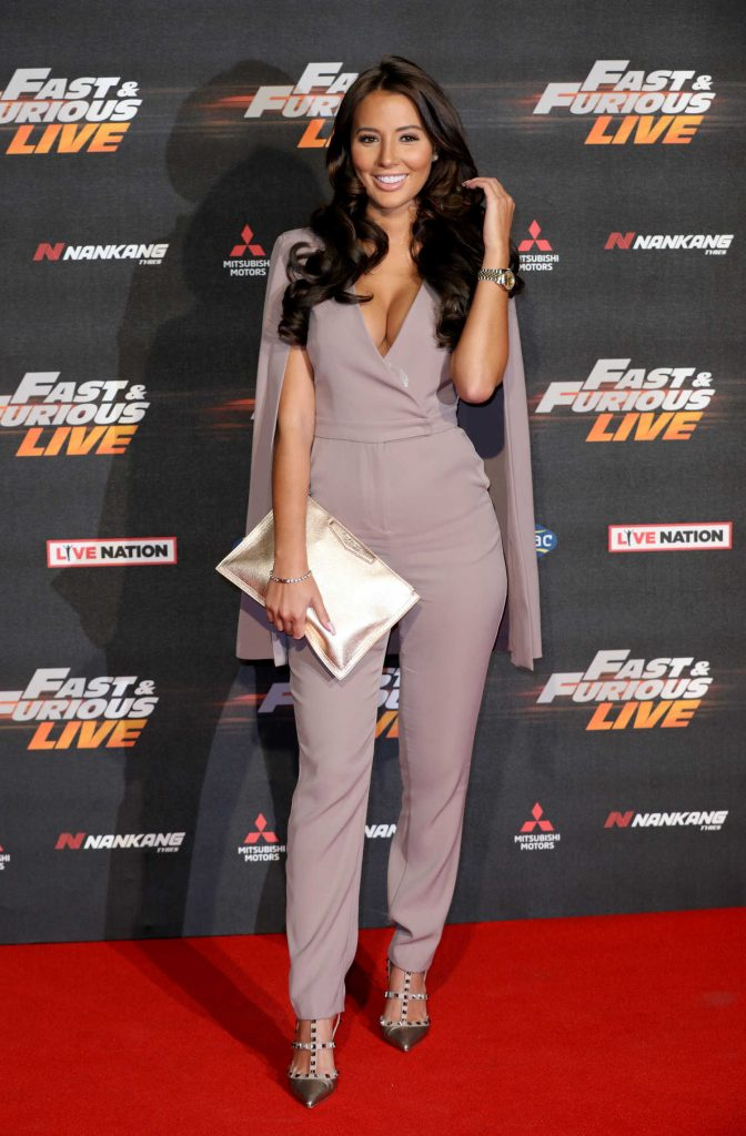 Yazmin Oukhellou at the Fast and Furious Live Premiere in London-1