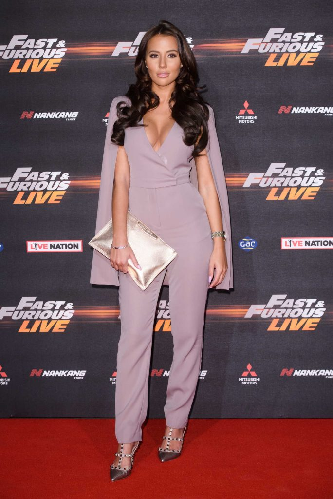 Yazmin Oukhellou at the Fast and Furious Live Premiere in London-2