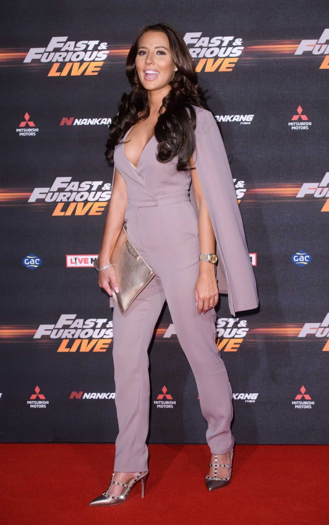 Yazmin Oukhellou at the Fast and Furious Live Premiere in London-3