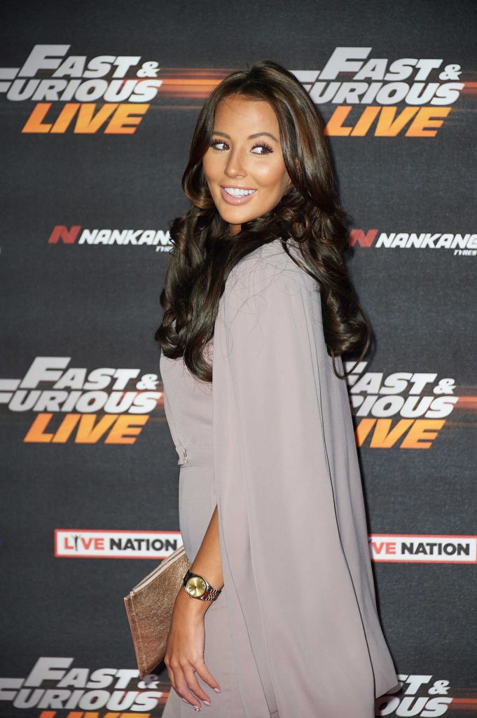 Yazmin Oukhellou at the Fast and Furious Live Premiere in London-4