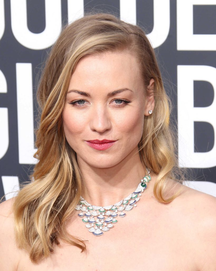 Yvonne Strahovski at the 75th Annual Golden Globe Awards in Beverly Hills-4
