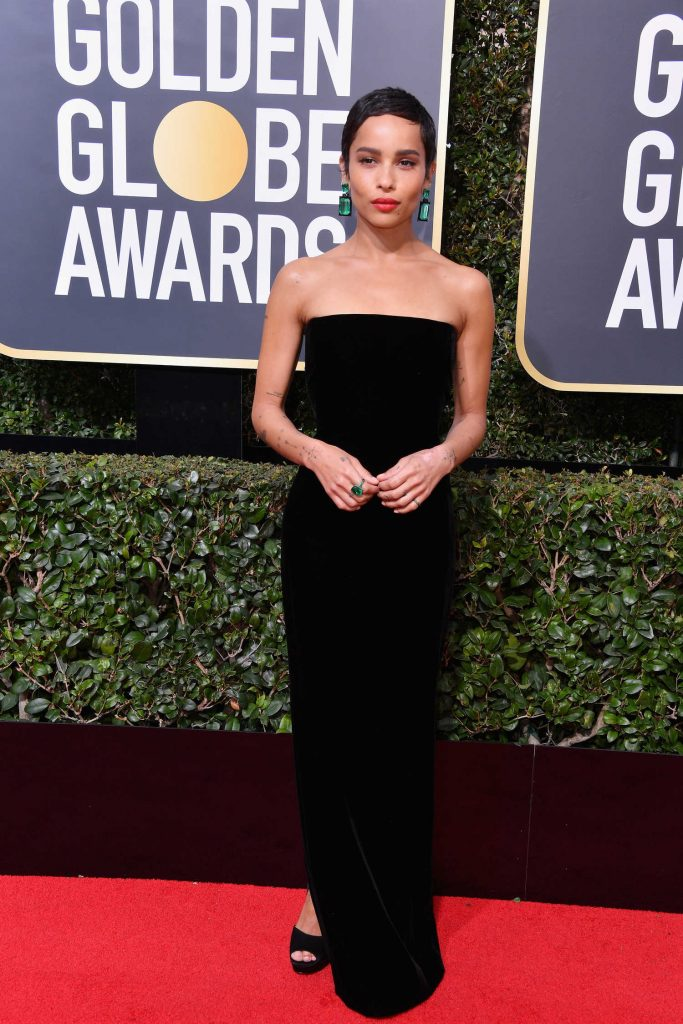 Zoe Kravitz at the 75th Annual Golden Globe Awards in Beverly Hills-2