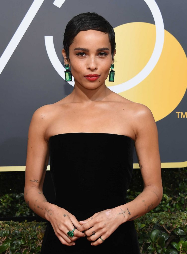 Zoe Kravitz at the 75th Annual Golden Globe Awards in Beverly Hills-4