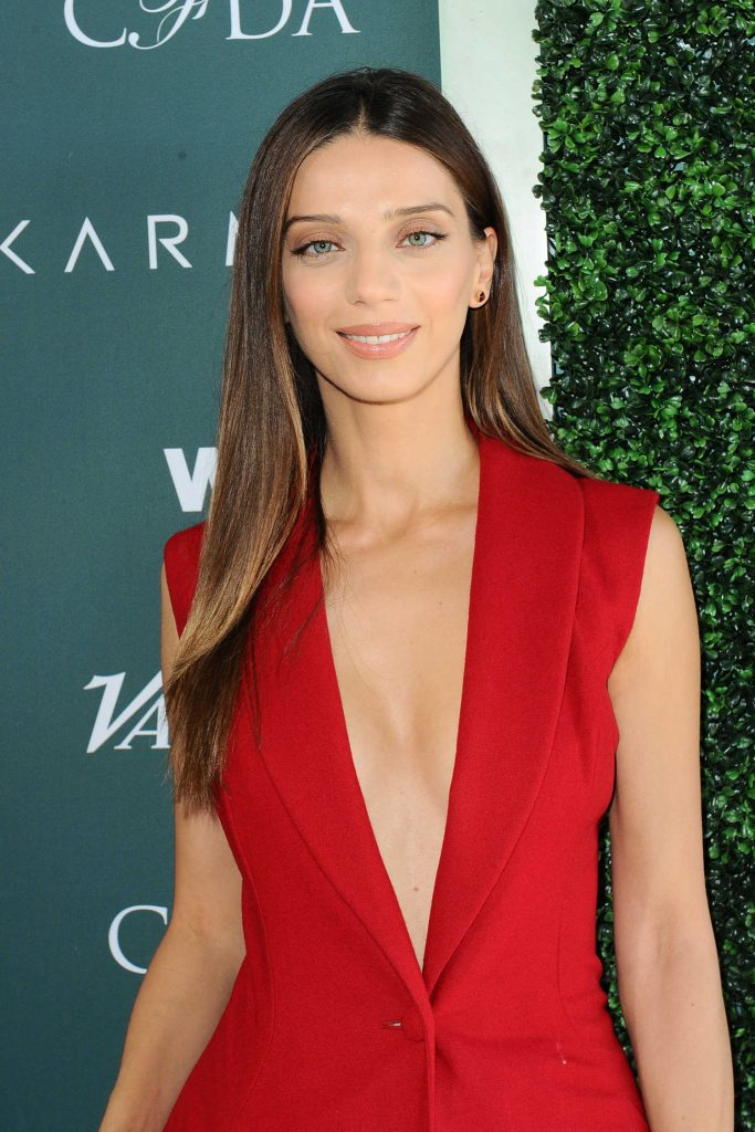 Angela Sarafyan at CFDA Variety and WWD Runway to Red Carpet in Los Angeles-4