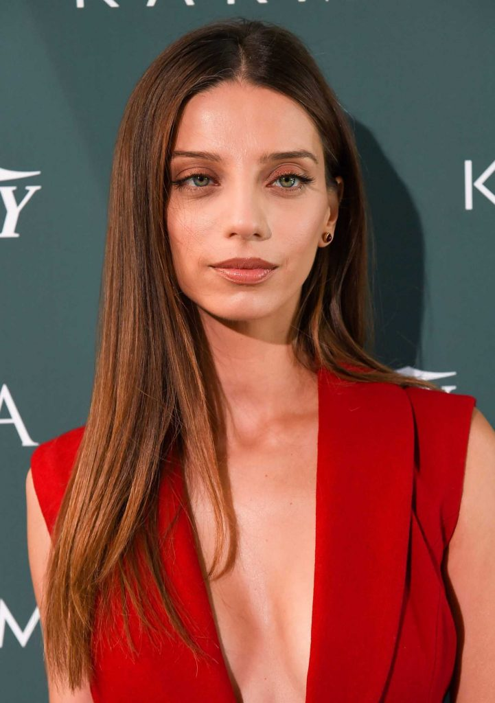 Angela Sarafyan at CFDA Variety and WWD Runway to Red Carpet in Los Angeles-5