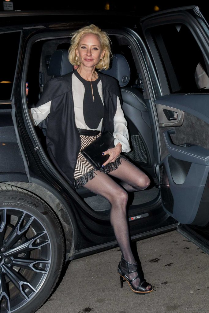 Anne Heche Arrives at the Medienboard Party at the Ritz Carlton Hotel in Berlin-1