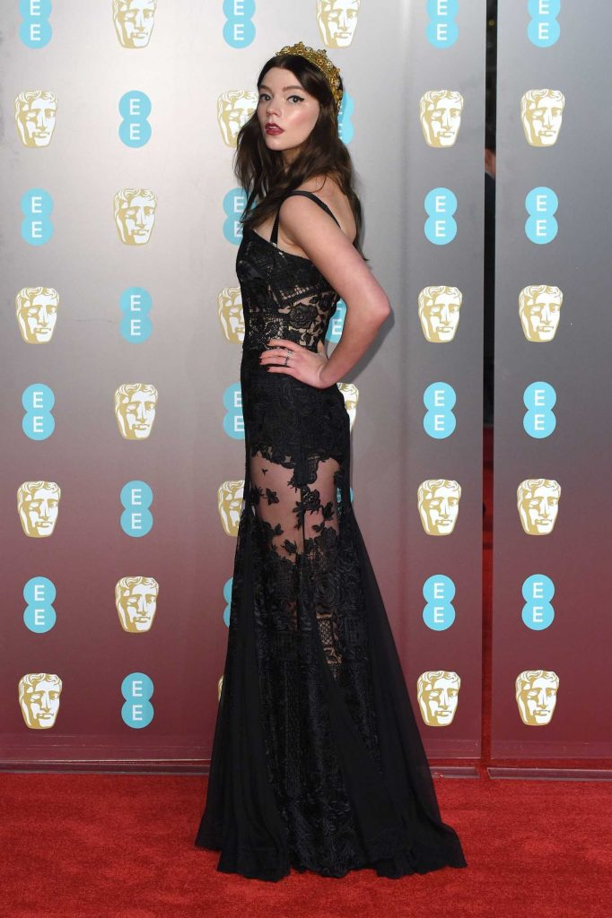Anya Taylor-Joy at the 71st British Academy Film Awards at Royal Albert Hall in London-2