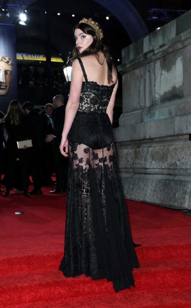 Anya Taylor-Joy at the 71st British Academy Film Awards at Royal Albert Hall in London-4