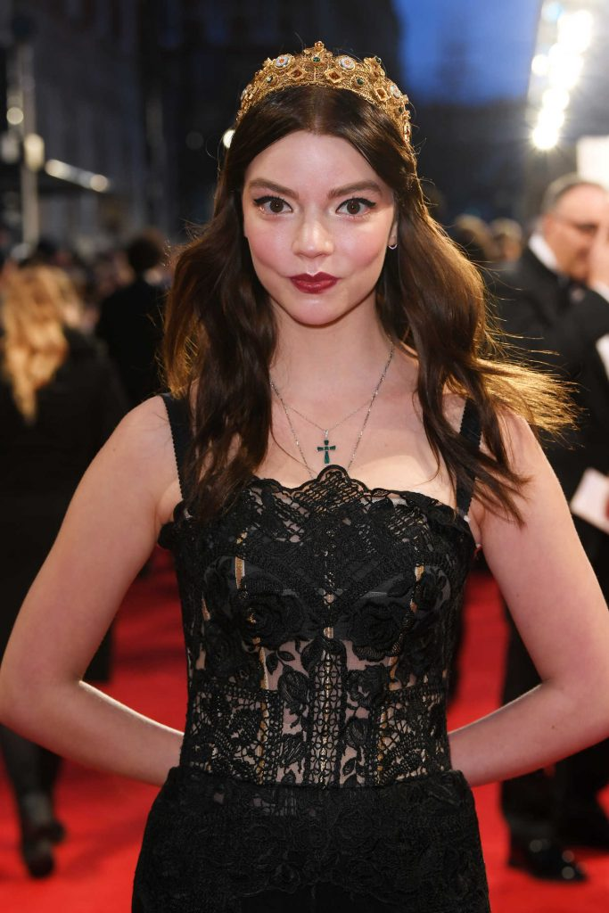Anya Taylor-Joy at the 71st British Academy Film Awards at Royal Albert Hall in London-5