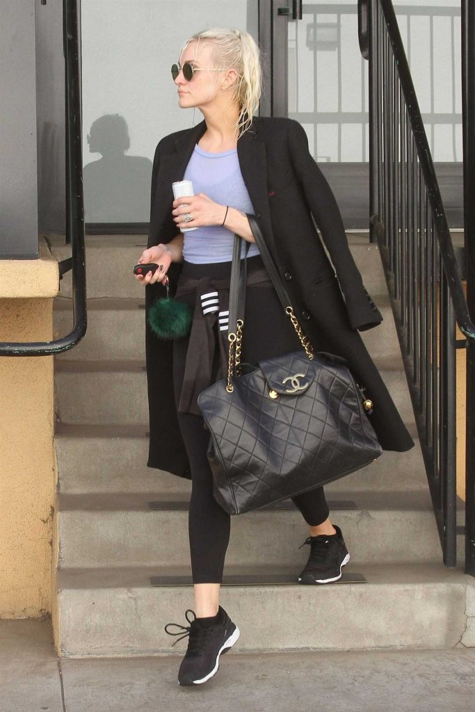 Ashlee Simpson Hits the Gym in LA-3