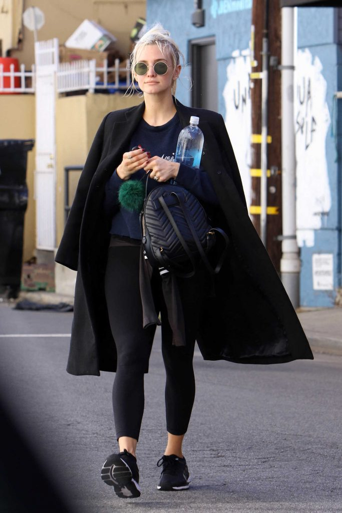 Ashlee Simpson Hits the Gym in Los Angeles-3