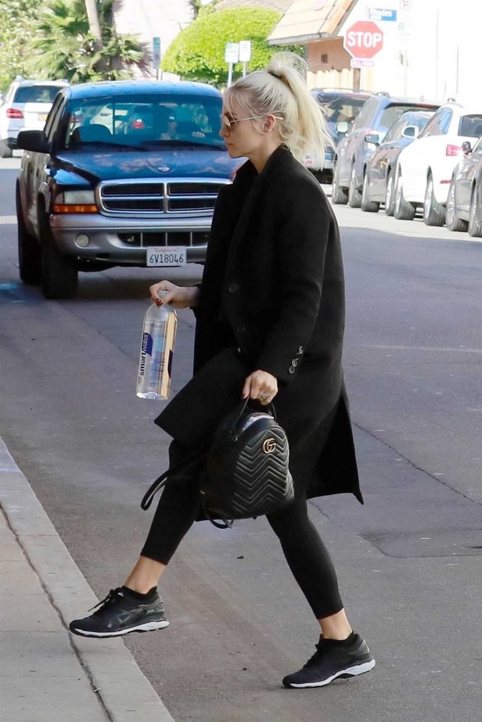 Ashlee Simpson Hits the Gym in Los Angeles-4