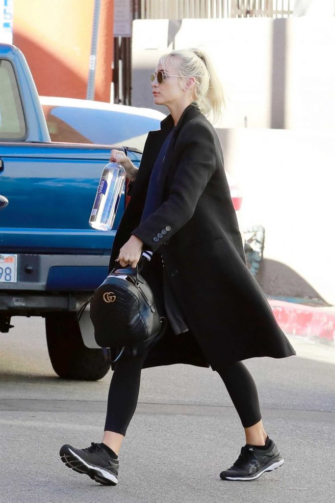 Ashlee Simpson Hits the Gym in Los Angeles-5