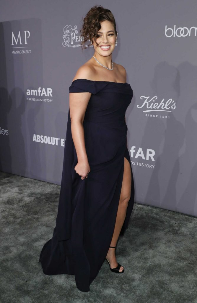 Ashley Graham at 2018 amfAR Gala New York at Cipriani Wall Street in New York City-4