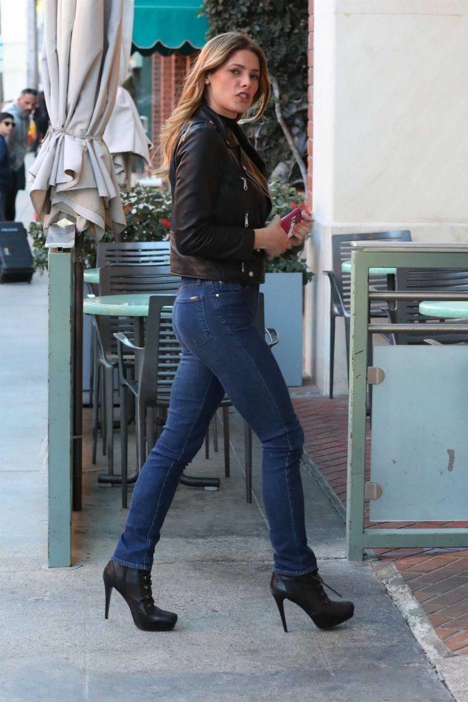 Ashley Greene Grabs Lunch at Judi's Deli in Beverly Hills-3