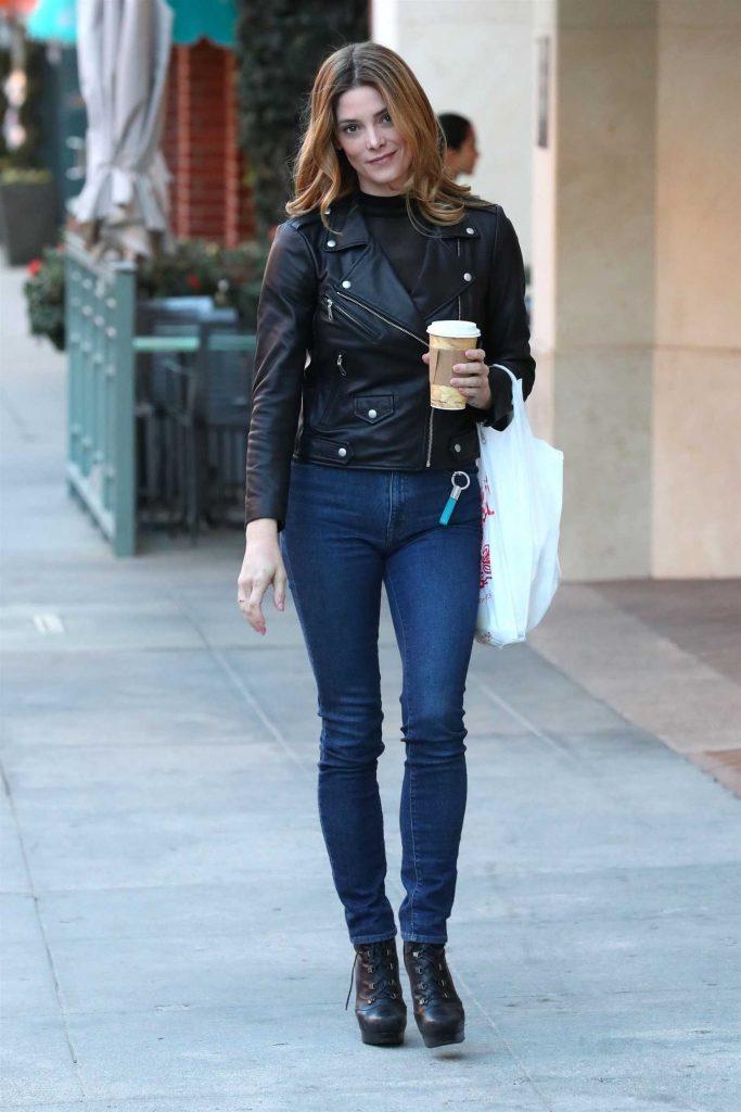 Ashley Greene Grabs Lunch at Judi's Deli in Beverly Hills-4