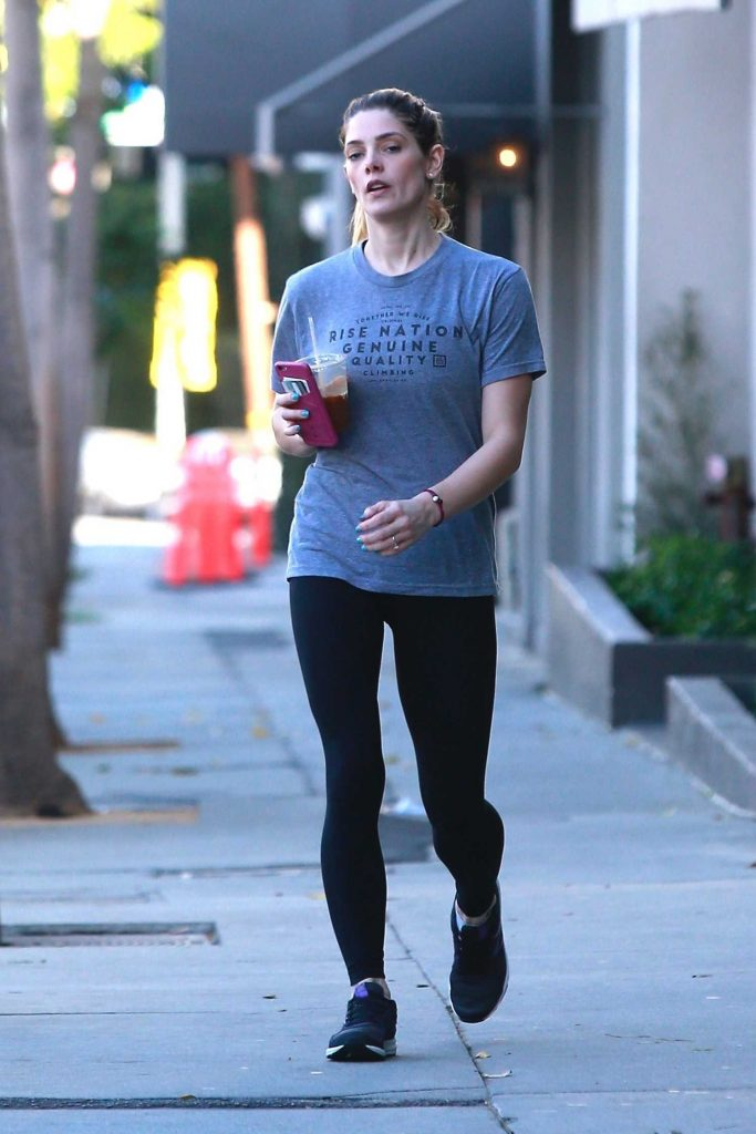 Ashley Greene Looks Casual in West Hollywood-1