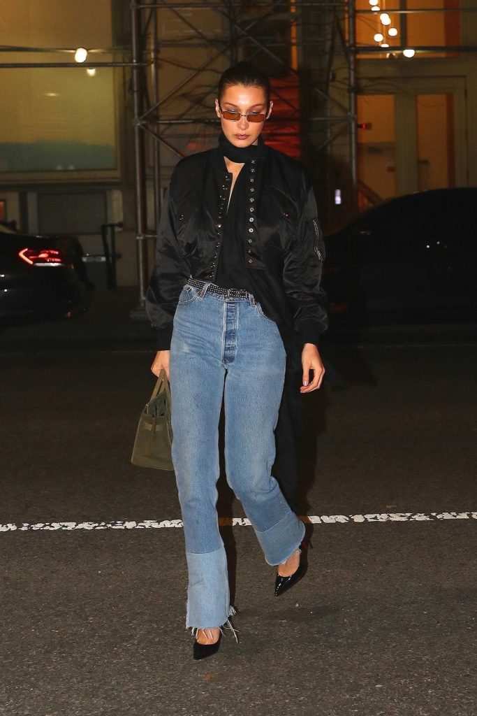 Bella Hadid Heads Out to Cipriani for a Late Night Dinner in NYC-2