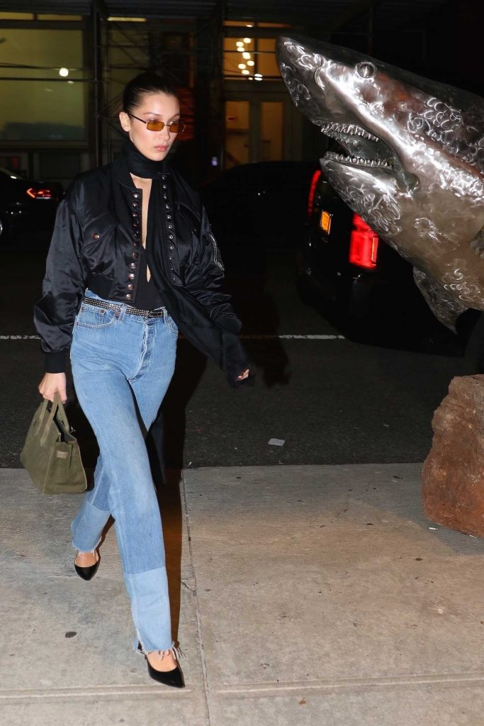 Bella Hadid Heads Out to Cipriani for a Late Night Dinner in NYC-4