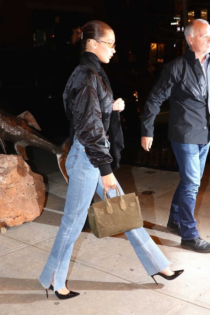 Bella Hadid Heads Out to Cipriani for a Late Night Dinner in NYC-5