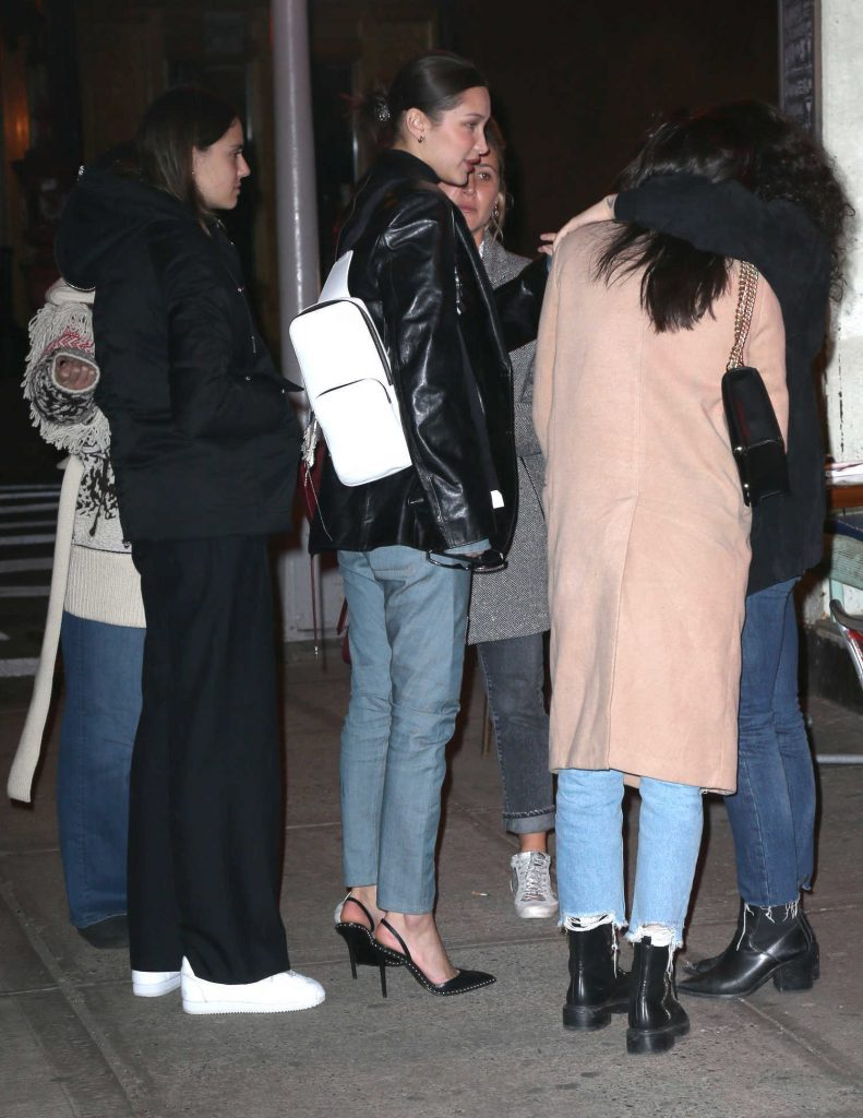 Bella Hadid Night Out with Her Friend Ally in New York City-5