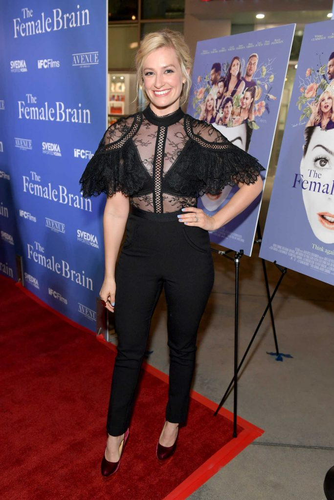 Beth Behrs at The Female Brain Premiere in Los Angeles-1