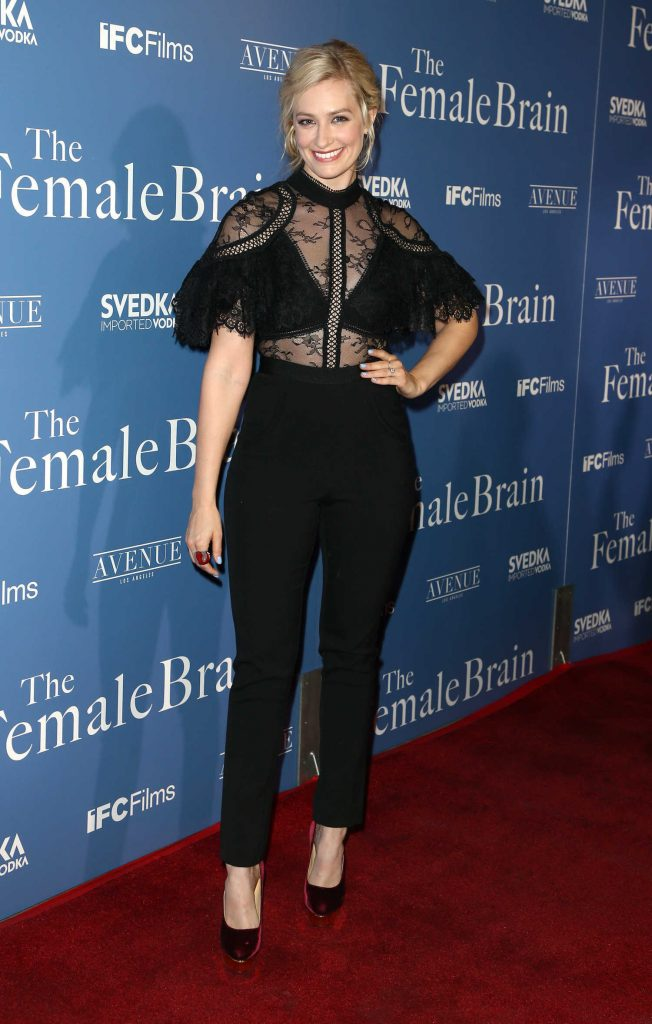 Beth Behrs at The Female Brain Premiere in Los Angeles-3