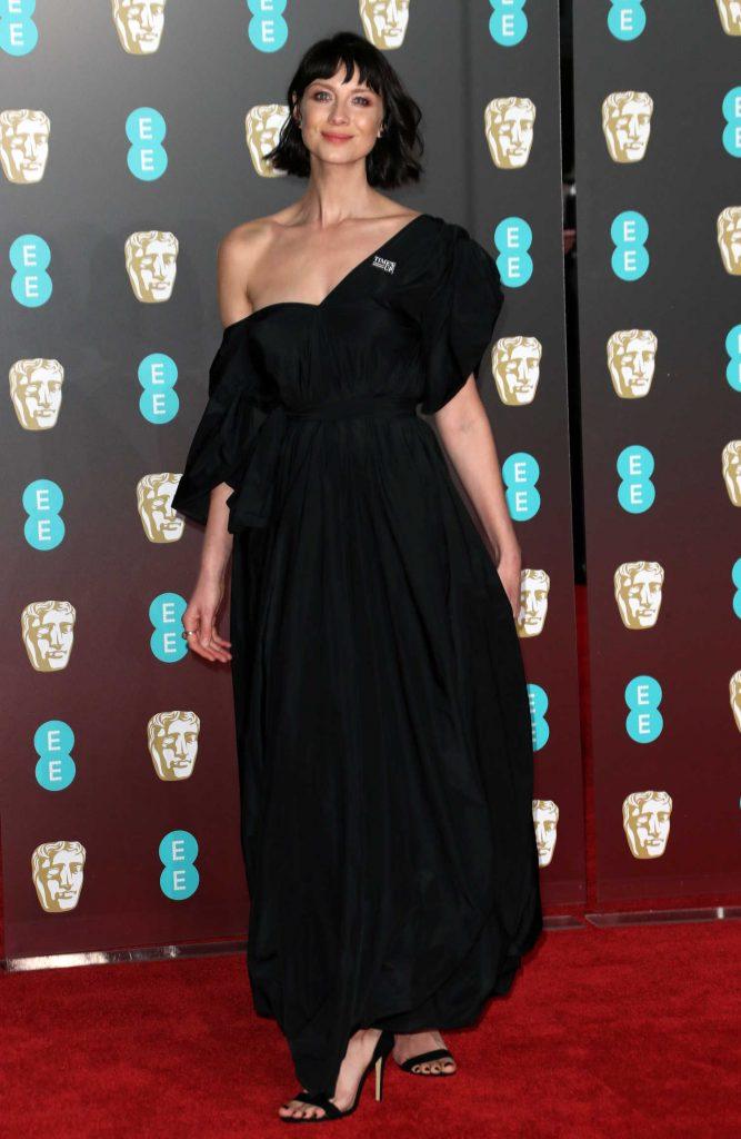 Caitriona Balfe at the 71st British Academy Film Awards at Royal Albert Hall in London-1