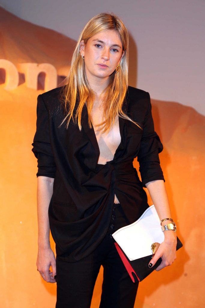 Camille Charriere at the Proenza Schouler Fragrance Party During New York Fashion Week in New York City-2