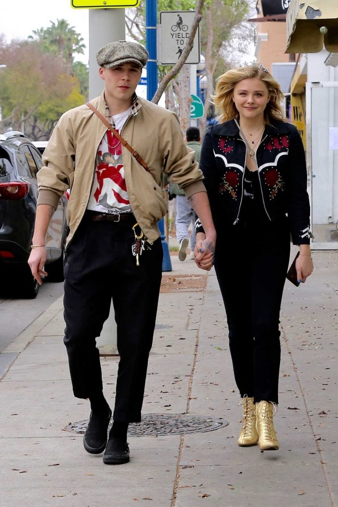 Chloe Moretz Was Seen Out with Her Boyfriend Brooklyn Beckham in Los Angeles-2