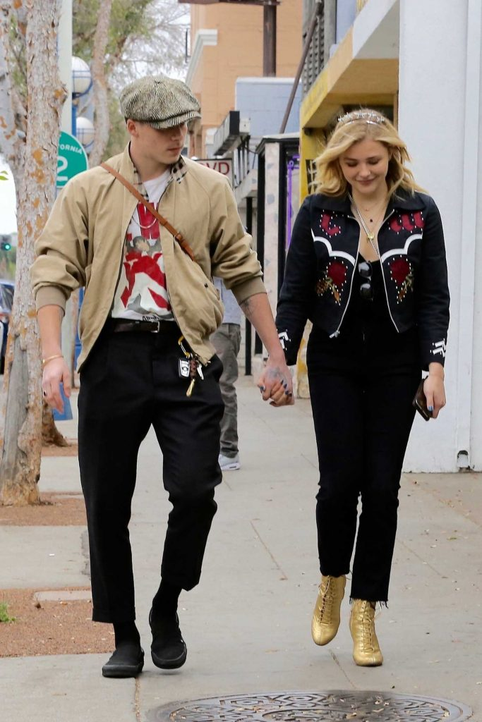 Chloe Moretz Was Seen Out with Her Boyfriend Brooklyn Beckham in Los Angeles-3