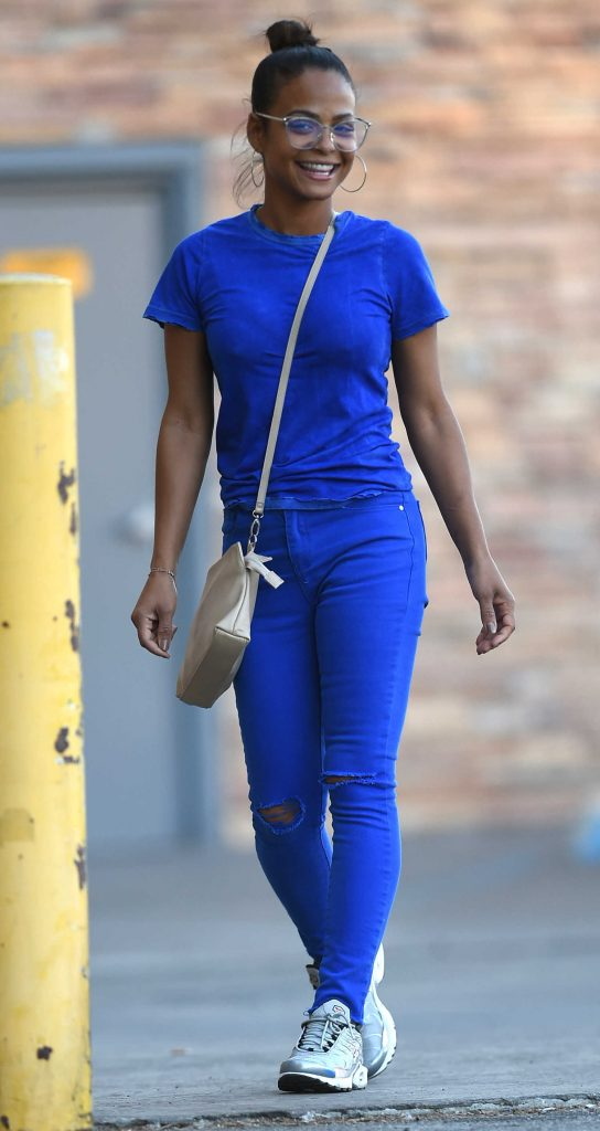 Christina Milian Was Spotted Out in LA-1