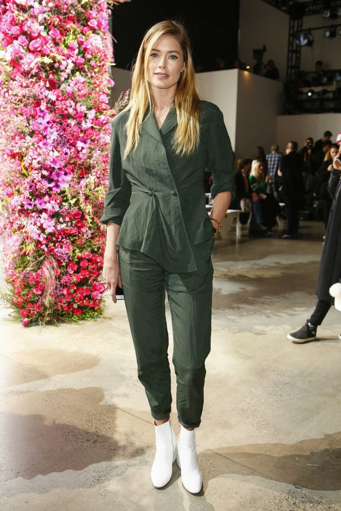 Doutzen Kroes at the Jason Wu Show During New York Fashion Week-1