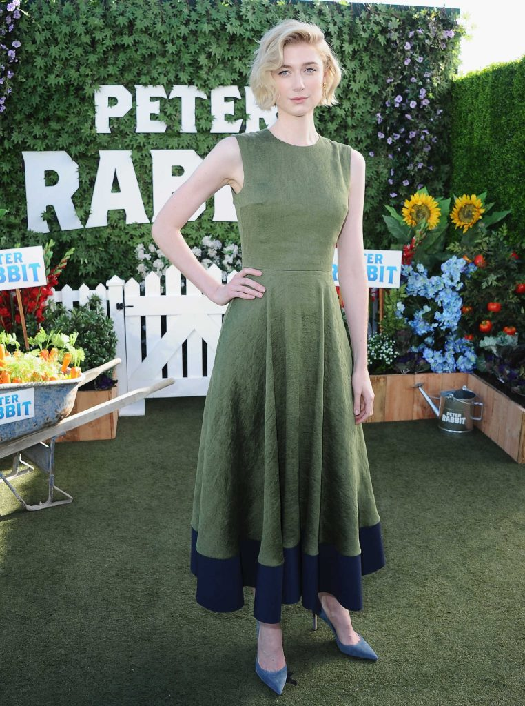 Elizabeth Debicki at Peter Rabbit Photocall in West Hollywood-1