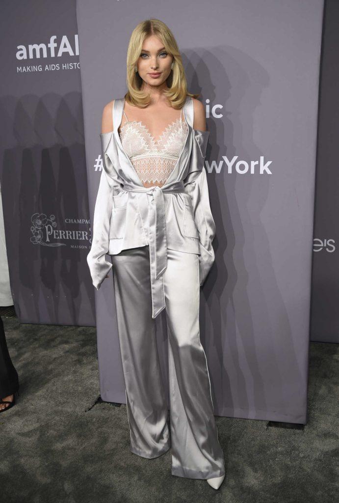 Elsa Hosk at 2018 amfAR Gala New York at Cipriani Wall Street in New York City-2