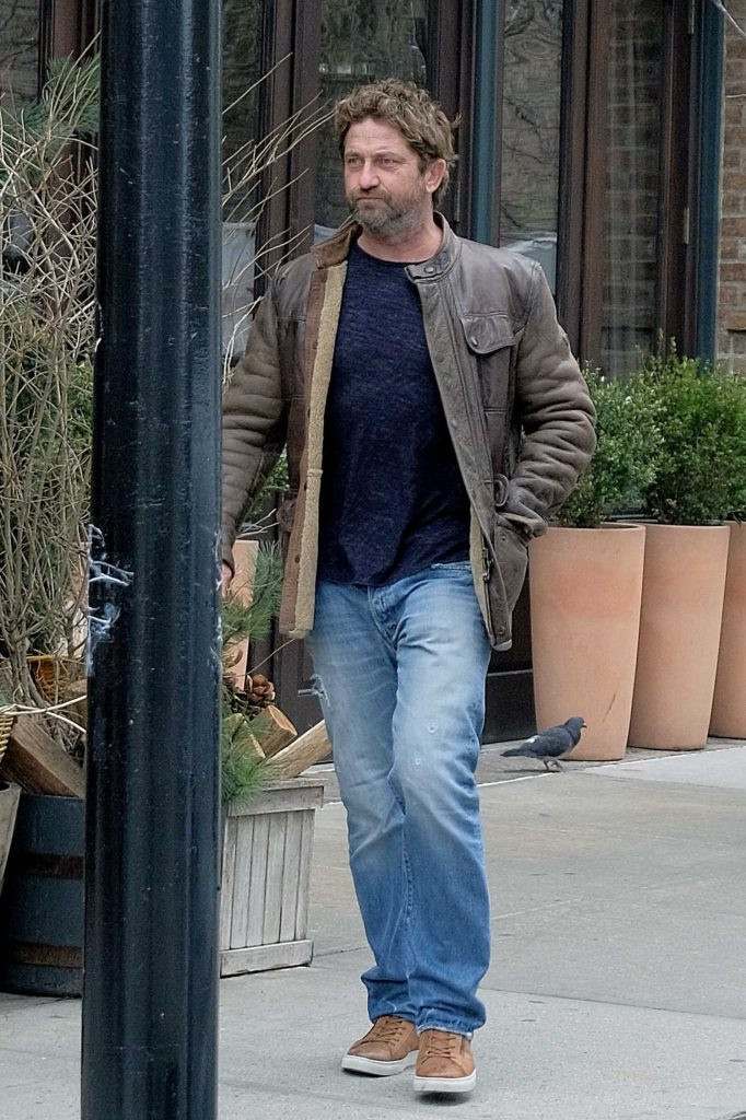 Gerard Butler Was Seen Out in Tribeca, New York-1