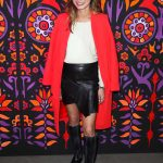 Jamie Chung at the Anna Sui Fashion Show During New York Fashion Week in New York City
