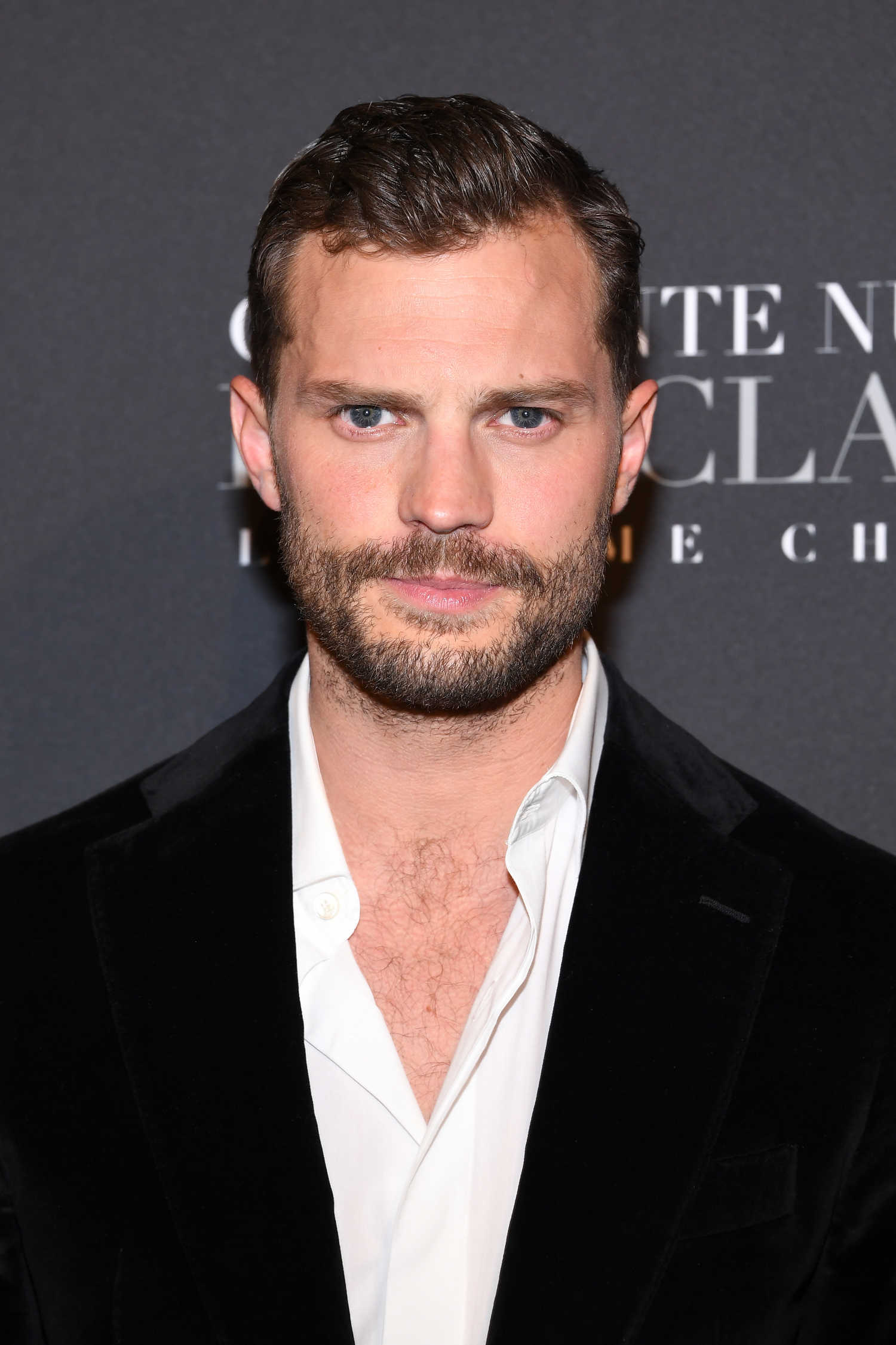 Jamie Dornan at the Fifty Shades Freed Premiere in Paris ...