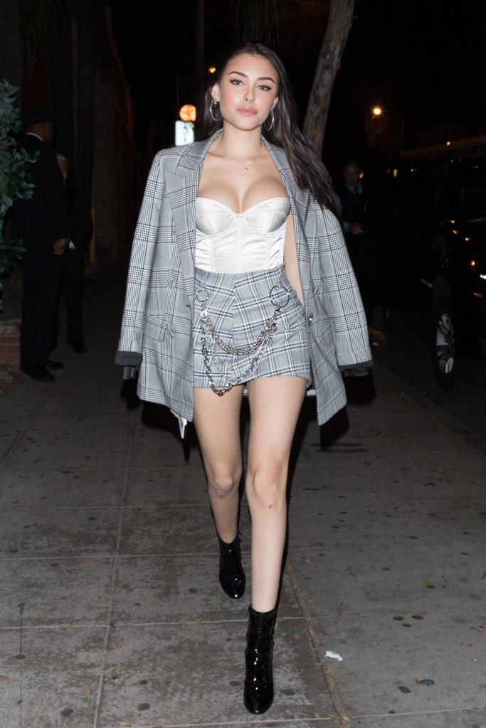 Madison Beer Leaves Delilah in West Hollywood-1