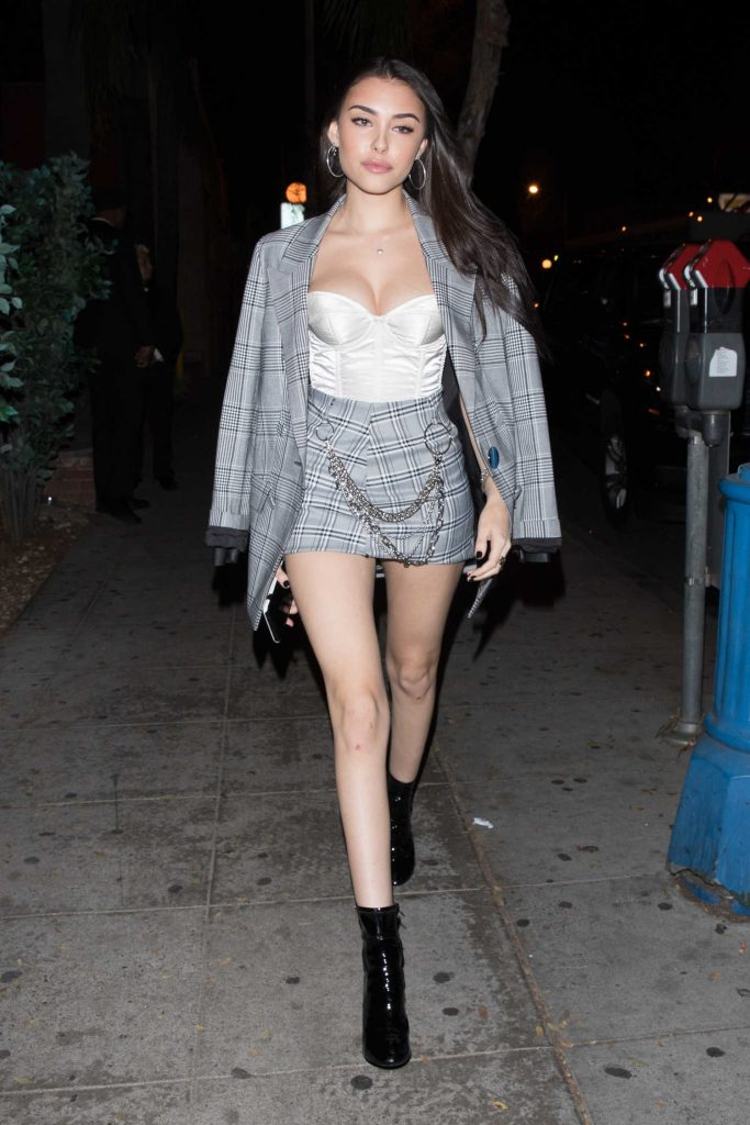 Madison Beer Leaves Delilah in West Hollywood-2