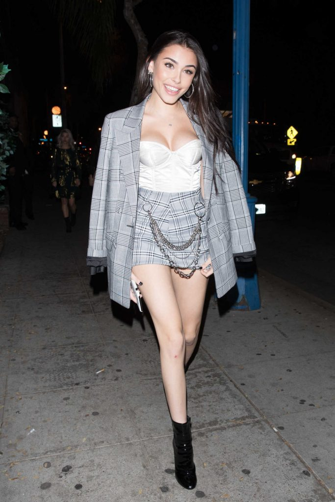 Madison Beer Leaves Delilah in West Hollywood-3
