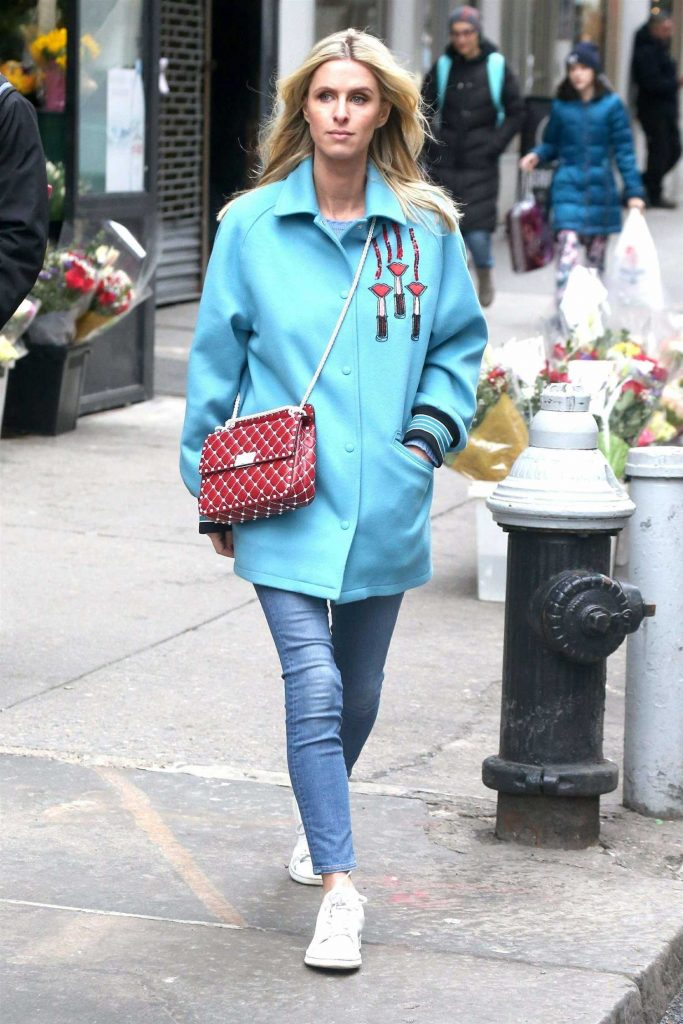 Nicky Hilton Was Seen Out in New York City-1