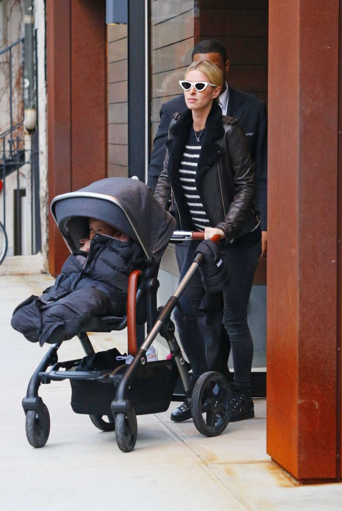 Nicky Hilton Was Spotted Out with Her Daughter Lily Grace in in Manhattan, NYC-1