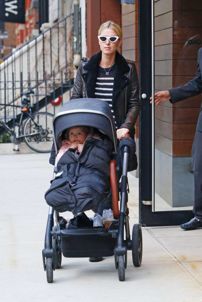 Nicky Hilton Was Spotted Out with Her Daughter Lily Grace in in Manhattan, NYC-2