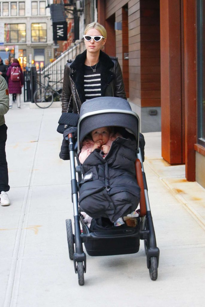 Nicky Hilton Was Spotted Out with Her Daughter Lily Grace in in Manhattan, NYC-3