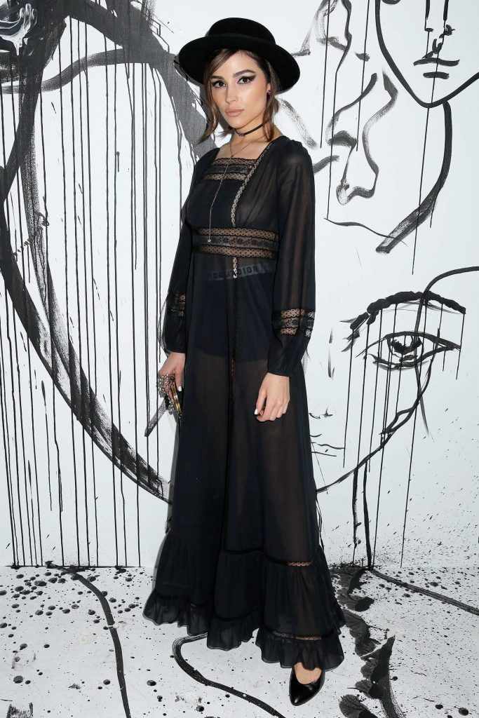 Olivia Culpo at the Dior Collection Launch Party During New York Fashion Week-1